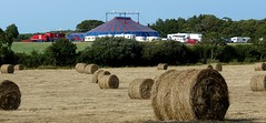 Hay its the Circus !! (BOB@ wootton) Tags: jay circus miller isleofwight hay bales isle wight iow millers wootton
