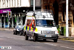 Ford transit Glasgow 2014 (seifracing) Tags: rescue cars ford scotland europe cops traffic britain glasgow transport scottish police east vehicles british van emergency polizei bomberos spotting services strathclyde scania brigade skoda polizia ecosse 2014 2013 seifracing lx13aru