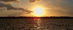 Evening in the Amazon (Junior Oliveira) Tags: rain brasil boat fishing barco riverside chuva canoe porto pesca par canoa belm amaznia ribeirinho