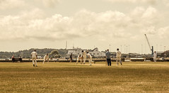 Past Times (Iain A Wanless) Tags: old sepia cricket dorset past poole sonynex7