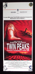 Old 1992 Italian Twin Peaks Fire Walk With Me Poster (gregg_koenig) Tags: old me vintage poster mexico fire with walk twin mexican peaks