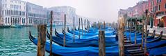 Góndolas (P2210224_P2210226-3 images_1280) (dr_cooke) Tags: venecia venice venezia canal góndola gondole morning mist fog niebla italia italy