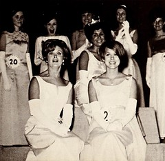 Ladies (Midnight Believer) Tags: retro 1960s beauty beautyqueens indoors formal