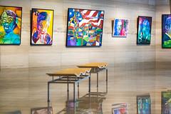20170208-BlackHistoryGallery-08 (cityoflasvegasPIO) Tags: art chambergallery cityhall gallery lasvegas nevada painting vegas sylvester collier