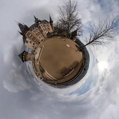 Schloß Wernigerode (uwe.winter) Tags: 360°x180° panorama kugelpanorama planet schloss wernigerode harz deutschland sachsenanhalt castle saxonyanhalt germany nikon d7200 sigma 1020mm