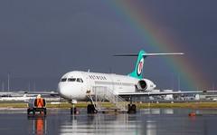 VH-NHF Network Aviation Fokker 100 (johnedmond) Tags: perth ypph australia fokker f100 network qantas rainbow aviation aircraft aeroplane sel55210 55210mm sony explored ilce3500
