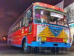 Arnala - Kolhapur (yogeshyp) Tags: msrtc maharashtrastatetransport msrtcparivartanbus arnaladepotbus arnalakolhapurstbus