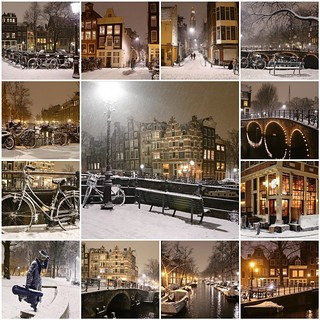 Winter nights in Amsterdam