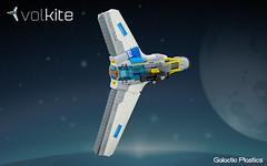 Volkite (tardisblue) Tags: lego space moc starfighter spaceship