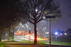 Lichtstrepen van auto's (Frank Berbers) Tags: nachtfotografie nachtopname nachtaufnahme nightphotography photographienocturne lightstripes lichtstreifen lichtstrepen lightstreameffekt bulbfotografie langzeitbelichtung bulbphotography posebbulb bulb poselongue lichtspiele nikond5100