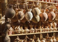 Nizwa Souk (Sylviane Moss) Tags: oman nizwa souk suk souq market potery pots clay