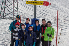 All of us (No9 (Tony)) Tags: 2017 canoneos100d courmayeur italy sigma sigma18200mmf3563dcoshsm skiholiday skiing
