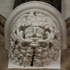 Leicester Cathedral (richardr) Tags: leicester cathedral church leicestercathedral greenman corbel sculpture midlands themidlands leicestershire building architecture england english britain british greatbritain uk unitedkingdom europe european history heritage historic old myth mythology