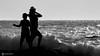 Silhouettes (Kgms76) Tags: sea nikon outdoor blackwhitephotos blackwhite