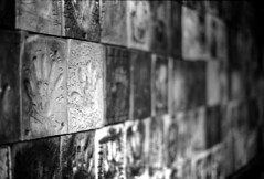 Tile (Nickademus42) Tags: black white film ilford pan 50 panf 35mm photography podcast project kentucky decay nikon f2 photomic bw