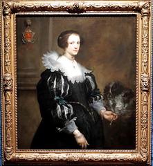 VAN DYCK - RETRATO DE ANNA WAKE - MAURITSHUIS (LA HAYA) (mflinera) Tags: van dyck pintura arte mauritshuis la haya holanda retrato
