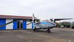 Let L-410MA Turbolet c/n 760503 Czech Air Force serial 0503 (sirgunho) Tags: germany rothenburg luftfahrttechnischer museumsverein aviation museum nva ddr luftwaffe l410 let l410ma turbolet cn 760503 czech air force serial 0503