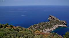 DSC04954 Sa Foradada (dreptacz) Tags: majorka wyspa hiszpania półwysep krajobraz natura sony slt55 lustrzanka widok skały morze woda drzewa krzewy