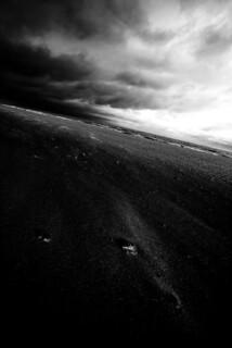 La courbe de l'horizon...