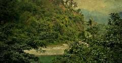 NEPAL, Auf dem Weg nach Pokhara, Natur pur, 16022/8282 (roba66) Tags: landschaft reisen travel explore voyages roba66 visit urlaub nepal asien asia südasien pokhara landscape paisaje nature natur naturalezza fluss river rio effecte textur texture