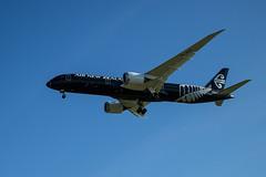 20170422_8630_EOS M-22 Air New Zealand 787-9 ZK-NZE with NZ162 from Perth (johnstewartnz) Tags: aircraft airnewzealand boeing boeing787 7879 zknze nz162 christchurch chc christchurchinternationalairport plane black canon canonapsc apsc eos eosm evil eosm1 22mmstm efm22mmf2stm