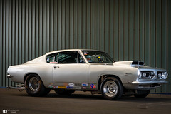 Plymouth Barracuda (technodean2000) Tags: santa pod race way raceway uk drag strip car nikon d610 lightroom plymouth barracuda
