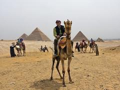 Bucketlist Trip of a Lifetime (Karnevil) Tags: africa egypt cairo giza pyramids khufu khafre menkaure egyptianvalleyofthedead thegizaplateau gizanecropolis camel desert sevenwondersoftheworld outdoors bucketlist selfie ego me sony rx100 rx100v petekreps