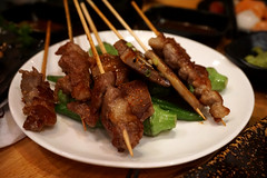 Skewers at Kaka (deeeelish) Tags: beef meat skewers grilled