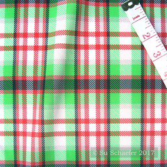 'Coolest Green + Red Plaid by Su_G': on basic cotton (Su_G) Tags: 2017 sug spoonflower swatch basiccottonultra coolestgreenredplaidbysug plaid tartain coolestgreenredplaid greenandred redandgreen red green coolest flannel summer bright lumberjack