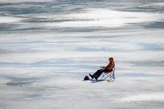 Fishing  169/365 (mjlmadison) Tags: bayfield wisconsin winter lakesuperior icefishing cold 3653