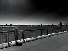 Flo (ShelSerkin) Tags: shotoniphone hipstamatic iphone iphoneography squareformat mobilephotography streetphotography candid portrait street nyc newyork newyorkcity gothamist blackandwhite