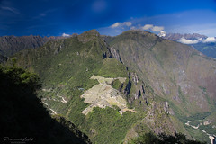 Machu Picchu, view from Huana Picchu... (przemekl73) Tags: peru peruana southamerica sudamerica inca mountains montanas landscape tradition sacretvalley vallesagrado vistas urubamba machupicchu machu picchu huayna waynapicchu naturaleza nature light sky view nationalgeographic ngc