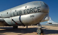 USAF Boeing KC-97G Stratotanker, c1955 - Pima Air & Space Museum, Tucson, Arizona.. (edk7) Tags: nikond3200 edk7 2013 usa arizona tucson arizonaaerospacefoundation pimaairspacemuseum unitedstatesairforce usaf boeingkc97gstratotanker 530151 195078 aerialrefueling strategic tanker cargo aircraft plane airplane aviation fourengine coldwar prattwhitneyr4360waspmajor28cylinderfourrowsupercharged715litreradial3500hp generalelectricj47ge23turbojet5790lbf
