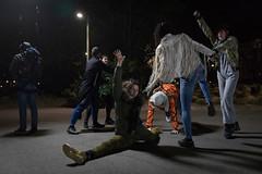 photoset: Tanzquartier Wien: Boris Charmatz / Musee de la Danse: danse de nuit (Karlsplatz 7 Resselpark, 6.4. & 7.4.2017, Generalprobe)