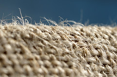 Sacking (SteveJM2009) Tags: macromondays clothtextile sacking sack jute hemp woven cloth texture threads macro dof focus detail bournemouth march 2017 stevemaskell dorset uk hmm hessian