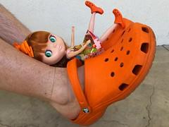 Croc Fun (TuSabesBlythe) Tags: kozy conrad doll blythe bl takara