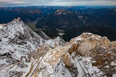 Zugspitze 10000 feet (DJNstudios) Tags: 10000 feet zugspitze germany german deutsch deutschland cable car funicular peak mountain highest austria fall foliage crane ski lift construction schnapps snow altitude
