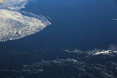 2017_04_10_lhr-ewr_026 (dsearls) Tags: 20170410 aerial windowseat windowshot united unitedairlines ual ua17 lhrewr ocean blue white ice icebergs patterns aviation flying longhaul flight north newfoundland grandbanks