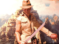 Indy - Outside the Temple of Doom (1/6th shooter) Tags: indianajones indy harrisonford hottoys heroes archeologist movies medicomtoys sideshowtoys templeofdoom sankarastone onesixth actionfigure toys georgelucas