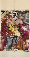 ENDLICHKEIT, 2017 (Marie Kappweiler) Tags: peintures paintings malerie toile canvas leinwand art kunst künstler künstlerin kappweiler acryl wachs cire fusain kohle charbon