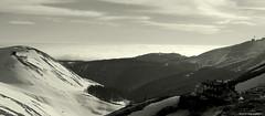 M.Terminillo (SIMEONI STEFANO + 500000 views) Tags: terminillo neve bianco nero grigio montagna paesaggio monocolore monocromo rieti lazio italia nikon nikkor dslr black white bw appenino