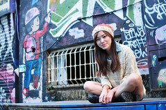 Yibi0022 (Mike (JPG直出~ 這就是我的忍道XD)) Tags: yibi 西門町 d300 model beauty 外拍 portrait 2013 fifi