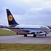 D-ABHW B737 Lufthansa BHX 04-09-87