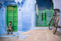 The Dreamer (blackdiegoz) Tags: india indian streetphotography streetsofindia asia travel color rajasthan boy dream jodhpur culture religion incredibleindia