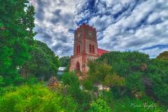 DSC_7591_Port Elliot (Manni750) Tags: port elliot tower church flowers bushes trees green sky clouds history historic