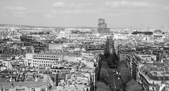 VIEW FROM ARC DE TRIOMPHE (paul jeffrey 1) Tags: arcdetriomphe france april city canon