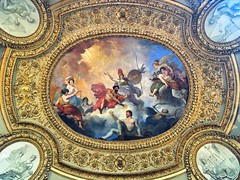 Louvre Museum   ~  Paris France  ~ Mars Rotunda Ceiling ~ Summer apartment of Anna of Austria. (Onasill ~ Bill Badzo) Tags: ceiling painting mural louvre museum paris france mars rotunda summer apartment anna austria vienna europe ornate french iphonegraphy must visit travel tourist tourism attractionsite seine river palace fortress philip iiurban city kings house mansion onasill