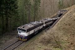 756007, Pn65311, Bystrická dolina, 8. 4. 2017 (Somatko) Tags: zsskc zssk cargo 756 tunel japensky bystricka dolina vlak train zeleznica railway hills