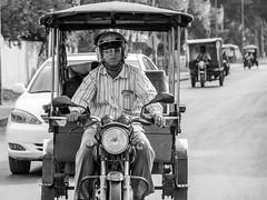 P1300331 (ivanpecina1) Tags: cambodia camboya siem reip angkor black white bw tuk motorbike tourist road asia southeast olympus omd em5 streetlife