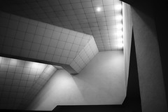 Interior Geometry (mikhailkorzhalov) Tags: nikon nikkor1855 architecture interior modern pattern modernarchitecture urban urbangeometry wall geometry shape 25mm construction lines